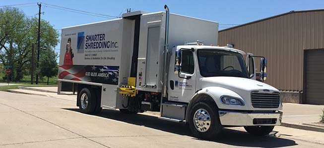 Smarter Shredding Shred Truck